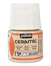 CERAMIC FR 45ML WHITE ANTIQUE