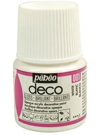 PBO-DECO GLOSS 45ML WHITE