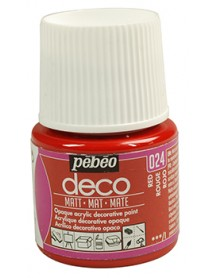 PBO-DECO MAT 45ML RED
