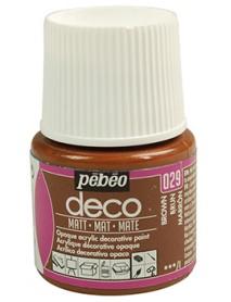 PBO-DECO MAT 45ML BRUN