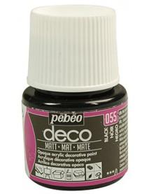 PBO-DECO MAT 45ML BLACK