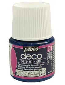 PBO-DECO MAT 45ML NAVY  BLUE