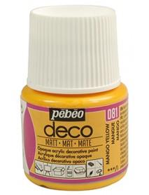 PBO-DECO MAT 45ML MANGO YELLOW