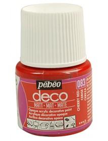 PBO-DECO MAT 45ML CHERRY RED