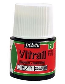 ΣΜΑΛΤΟ ΔΙΑΦΑΝΟ PEBEO VITRAIL 45ml PINK