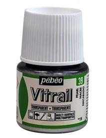 ΣΜΑΛΤΟ ΔΙΑΦΑΝΟ PEBEO VITRAIL 45ml PEARL