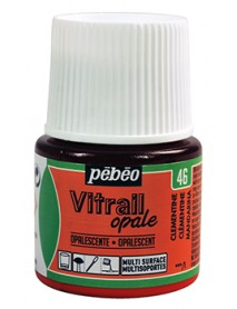VITRAIL SOLV. 45ML OPAQUE CLEMENTINE