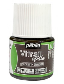 VITRAIL SOLV. 45ML OPAQUE PEWTER
