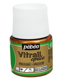 VITRAIL SOLV. 45ML OPAQUE WARM GOLD