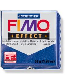 ΠΛΑΚΙΔΙΟ FIMO EFFECT 56GR BLUE GLITTER
