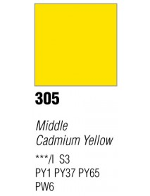 GOUACHE T7 20ML MIDDLE CADM YELL