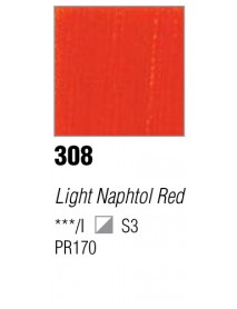 ACRYLIC 37ML EXTRA FINE LIGHT NAPHTOL RED