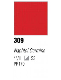 ACRYLIC 37ML EXTRA FINE NAPHTOL CARMINE
