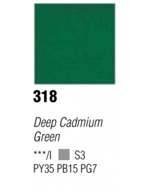 ACRYLIC 37ML EXTRA FINE DEEP CADMIUM GREEN