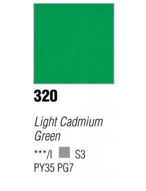 ACRYLIC 37ML EXTRA FINE LIGHT CADMIUM GREEN