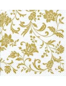 ΧΑΡΤΟΠΕΤΣΕΤΑ 33Χ33 ARABESQUE WHITE GOLD