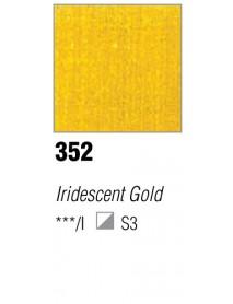 ACRYLIC 37ML EXTRA FINE IRIDISCENT GOLD