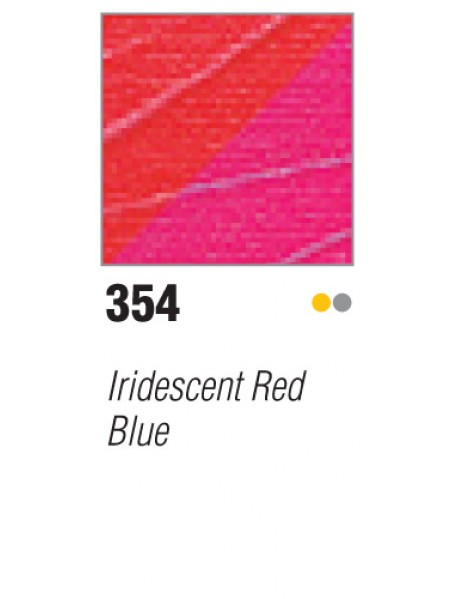 ACRYLIC STUDIO 250ML IRID RED-BLUE