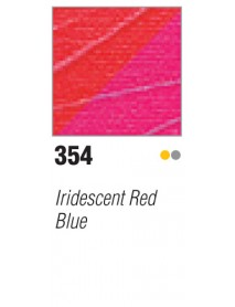 ACRYLIC STUDIO 500ML IRID. RED-BLUE