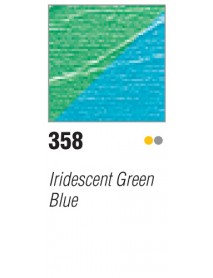 ACRYLIC STUDIO 250ML IRID. GREEN-BLUE