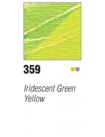 ACRYLIC STUDIO 500ML IRID. GREEN-YELLOW