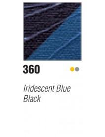 ACRYLIC STUDIO 250ML IRID. BLUE-BLACK