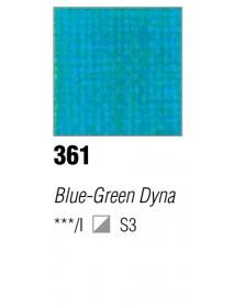 ACRYLIC 37ML EXTRA FINE BLEU/GREEN DYNA
