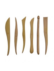 6'' WOODEN SCULPTING TOOLS