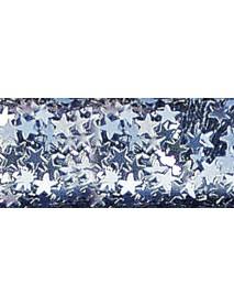 GLITTER ALUMINIUM STARS 10ML SILVER