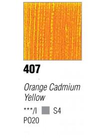 ACRYLIC 37ML EXTRA FINE ORANGE CADMIUM YELLOW