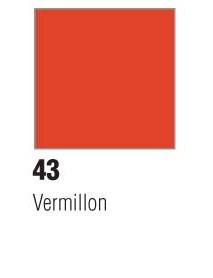 DECO MAT 45ML VERMILLON