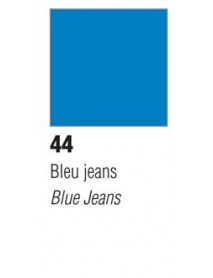 VITRAIL SOLV. 45ML OPAQUE BLUE JEANS