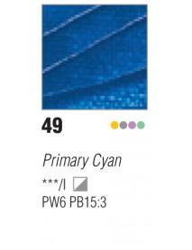 ACRYLIC STUDIO 250ML CYAN PRIMARY