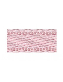 Satin ribbon with selvage, pale-pink, 6MM 1M