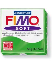 ΠΛΑΚΙΔΙΟ FIMO SOFT 56GR TROPICAL GREEN