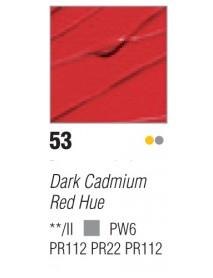 ACRYLIC STUDIO 250ML CADMIUM RED DARK
