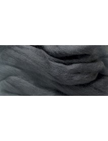 MERION ROVING TUFT, SUPER SMOOTH 50G BLACK