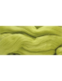 MERION ROVING TUFT, SUPER SMOOTH 50G LIGHT GREEN