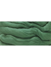 MERION ROVING TUFT, SUPER SMOOTH 50G DARK GREEN