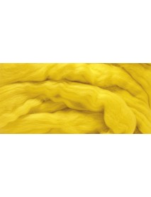 MERION ROVING TUFT, SUPER SMOOTH 50G YELLOW