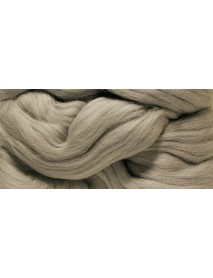 MERION ROVING TUFT, SUPER SMOOTH 50G GREY
