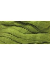 MERION ROVING TUFT, SUPER SMOOTH 50G GREEN