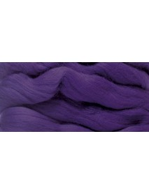 MERION ROVING TUFT, SUPER SMOOTH 50G PLUM