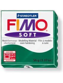 ΠΛΑΚΙΔΙΟ FIMO SOFT 56GR EMERALD