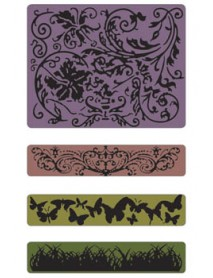 SIZZIX TEXTURE FADES EMBOSSING FOLDER