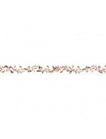 WASHI TAPE 15MM 15M FLOWER
