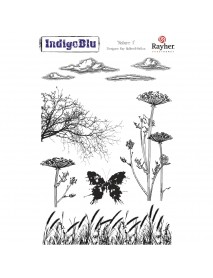 Stamp A5: Nature 1, 200x140mm, tab-bag 1pc