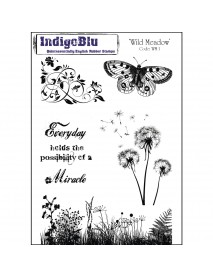 Stamp A5: wild Meadow, 200x140mm, tab-bag 1pc