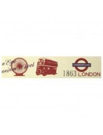WASHI TAPE 30MMX15M LONDON