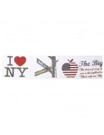 WASHI TAPE 30MMX15M NEW YORK